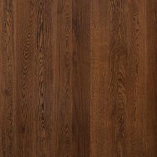 Паркетная доска Polarwood Однополосная Дуб Протей темно-коричневый