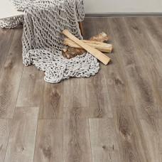 Кварц-виниловая плитка Alpine Floor ECO 7-4 Дуб Грей Дождливый Premium XL