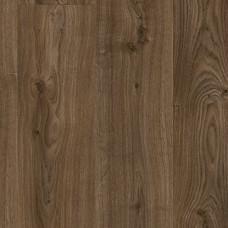 Виниловые полы Quick Step Livyn Дуб Коттедж темно-коричневый BACL-40027